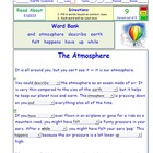 A Differentiated Interactive I-Cloze – Atmosphere - Readin