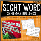 A Feast of Sight Words {Sight Word Sentence Building Activ