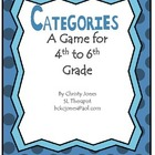 A GAME OF CATEGORIES