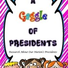 A Gaggle of Presidents--Research Our Nation's Presidents