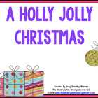 A Holly Jolly Christmas:  A Common Core Aligned Math, Lite
