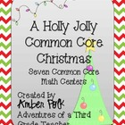 A Holly Jolly Common Core Christmas {Math Centers}