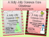 A Holly Jolly Common Core Christmas {Math and Literacy BUNDLE}