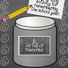 A Jar Full of Memories- A Year Long Activity for Rememberi