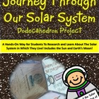 A Journey Through Our Solar System Dodecahedron Project Kit