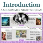A Midsummer Night's Dream: Introduction PowerPoint