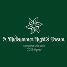 A Midsummer Night's Dream SUPER Unit Pack--Prereading thro