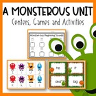 A Monster-ous Unit {Centers, Games and Activities}