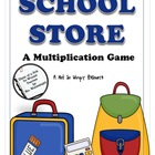 A Not So Wimpy File Folder Game: School Store (A Multiplic