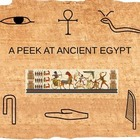 A Peek at Ancient Egypt PowerPoint