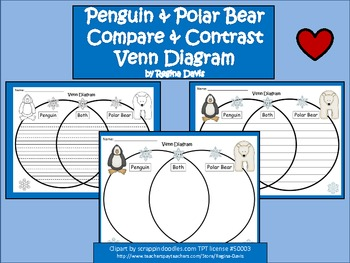 http://www.teacherspayteachers.com/Product/A-Penguin-Polar-Bear-Venn-DiagramCompare-and-Contrast-462970