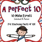 A Perfect 10! 10 Math Events to Practice Facts of 10!