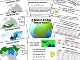 A Region by Any Other Name - The Middle East lesson plan w