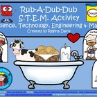 A+ Rub-A-Dub-Dub STEM Activity: Science, Technology, Engin