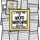A School Year of Word Watching