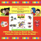 "A ""Secret Stories"" Sampling!  (phonics chunks / spelling chunks)"