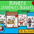 A+ Sentence Bubbles Literacy Bundle....SAVE $$$$