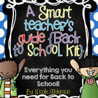 A Smart Teacher's Guide {Back to School Kit}