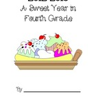 A Sweet Year Memory Book - Fourth Grade