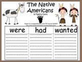 A+ The Native Americans: Graphic Organizers