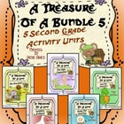 A Treasure Of A Bundle #5 : Five Activity Book Units For 2