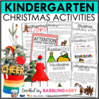 A Very Kinder Christmas {A Kindergarten Christmas Value Pack}