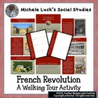 A Walking Tour of the French Revolution Lesson Activity