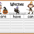 A+ Witches: Graphic Organizers
