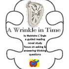 A Wrinkle in Time guided reading plan