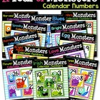 A Year of Monsters Calendar Numbers