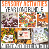 A Year's Worth of  Sensory Table Fun: Aligned Activities a