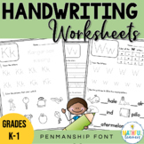 A-Z Handwriting Sheets