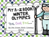A-Z Vocabulary Book: Winter Olympics