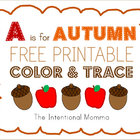 A is for Autumn (Pre-K Pack)