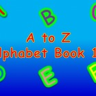A to Z Alphabet Book 19 PowerPoint/Printable Book/Flash Cards