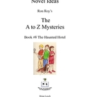 A to Z Mysteries: The Haunted Hotel - A Novel Study for Yo