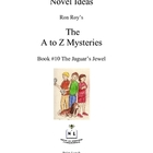 A to Z Mysteries: The Jaguar's Jewel - A Novel Study for Y