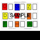 ABC Centers Set 1 - Printable, Ready to Use! PreK-1 Litera