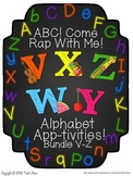 Alphabet Letters of The Week V-Z (Bundle #5)
