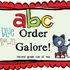 ABC Order Galore: Differentiated for any level of ABC order