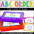 ABC Order Scoot Game