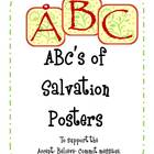 ABC Posters for Salvation Message-