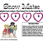 ABC Quick Write Snow Mates