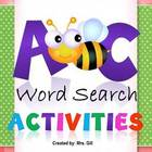 ABC Word Search Activities