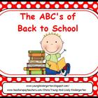 ABCs of Back to School Stick Kids Powerpoint