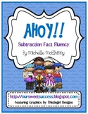 AHOY!! Subtraction Fact Fluency {Common Core Based}