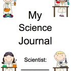 AMAZING Kindergarten Science Journal (assessment, notebook