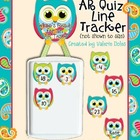 AR /RC Quiz Line Tracker: Cute Owl Theme
