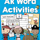 """AR"" Word Activities"