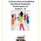 ASD Behavior Treatments